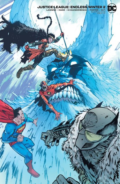 JUSTICE LEAGUE ENDLESS WINTER #2 (OF 2) CVR B DANIEL WARREN JOHNSON CARD STOCK VAR (ENDLESS WINTER)